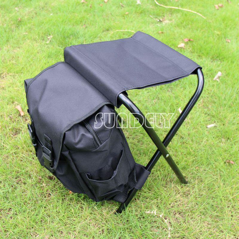 New high quality camping fishing rucksack backpack seat for Fishing backpack chair