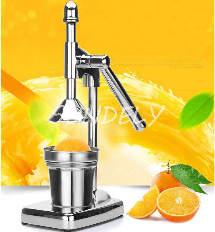 Orange Press Juicer ~ Orange hand press commercial pro manual citrus fruit lemon