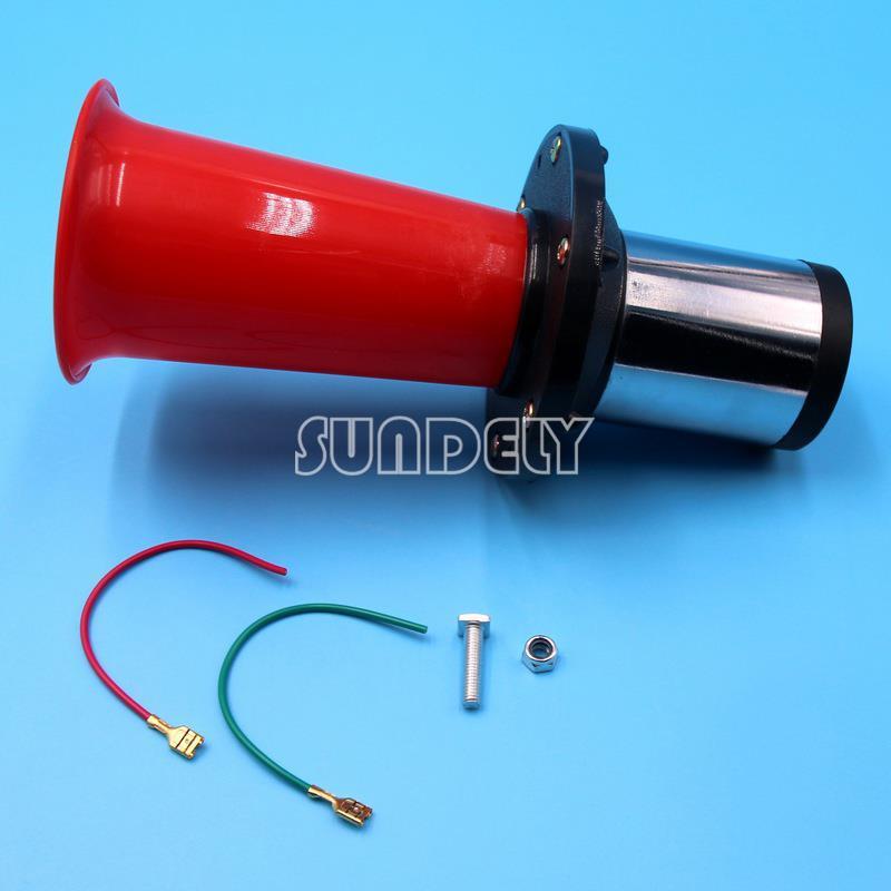 Klaxon Car Air Horn Classic Vintage Sound 12v Fog Horn