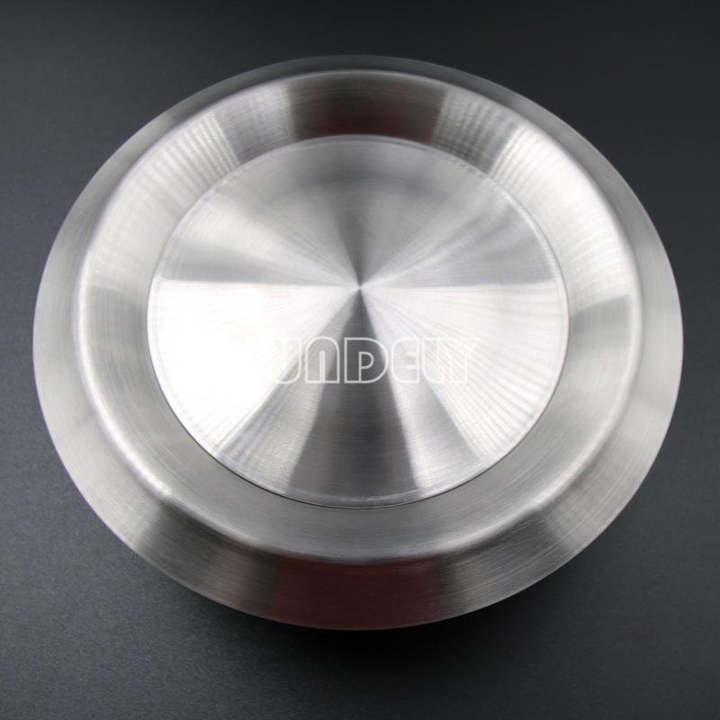 NEW 4 Stainless Steel Bathroom Ceiling Air Vent Round Metal Wall Cover