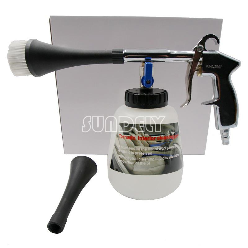 Interior Car Cleaner Air : Car tornado interior upholstery dry cleaning metal handle