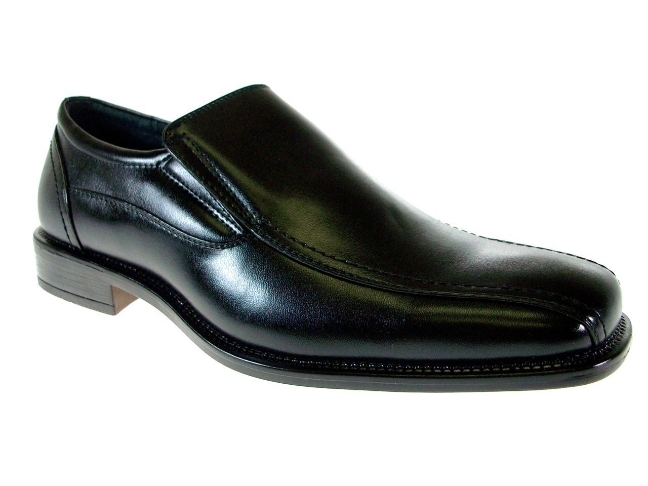 delli aldo mens slip on leather lined loafers dress
