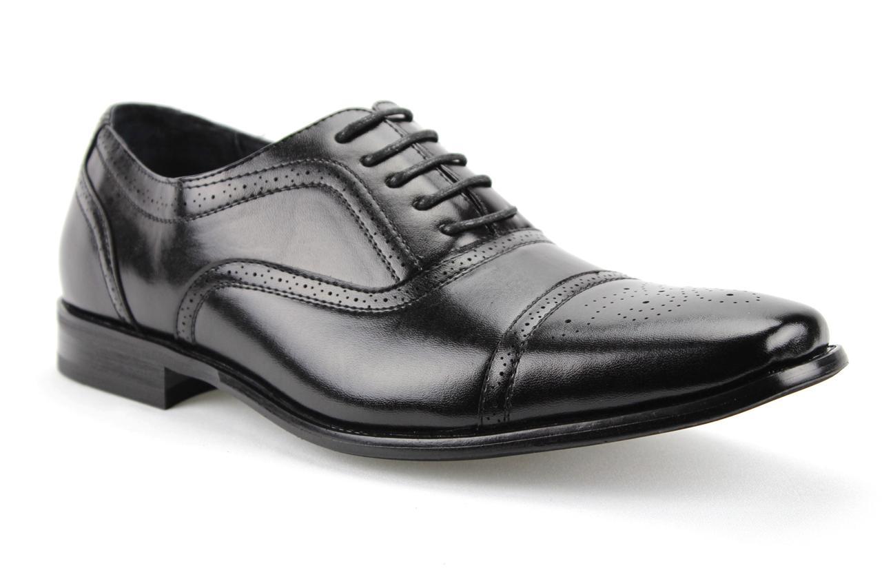 mens delli aldo lace up wing tip oxfords dress shoes w