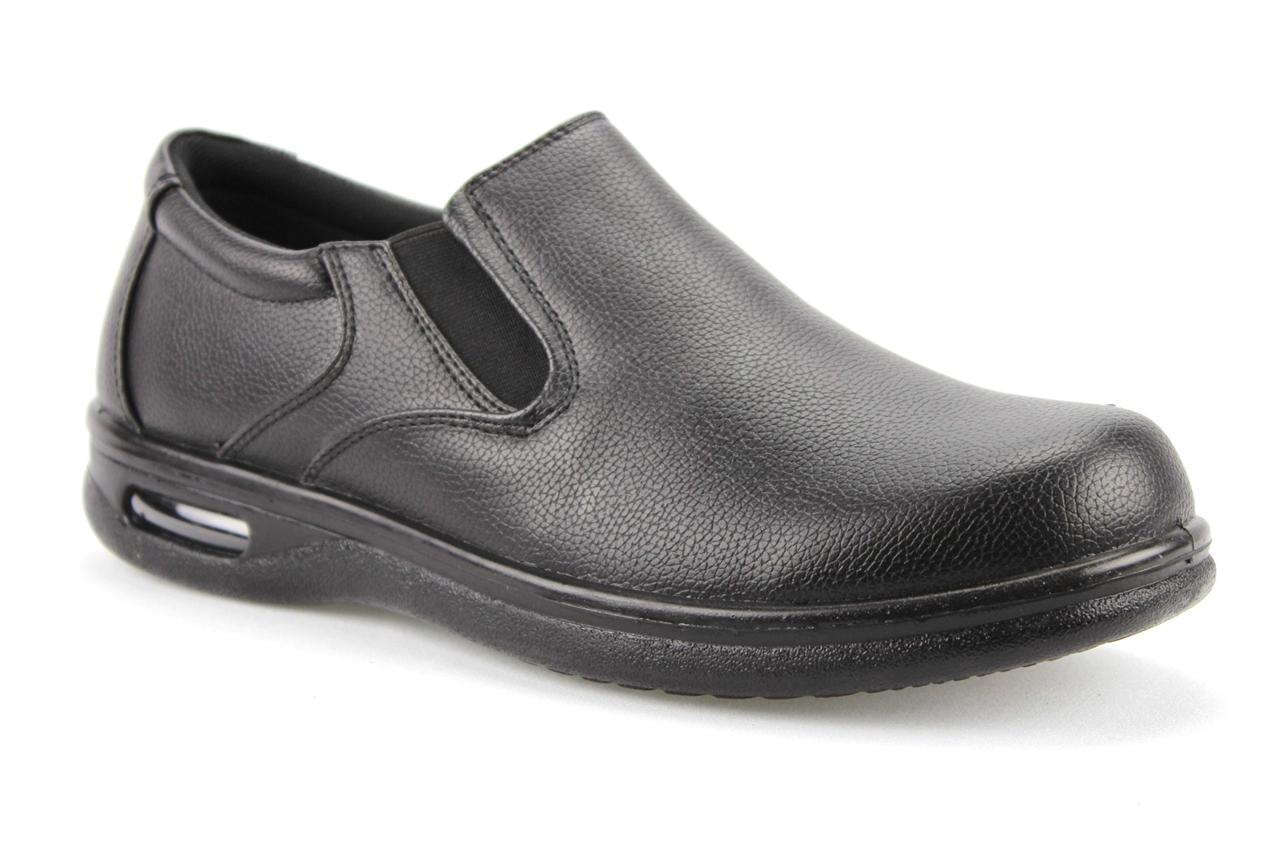 s black slip on restaurant work shoes slip