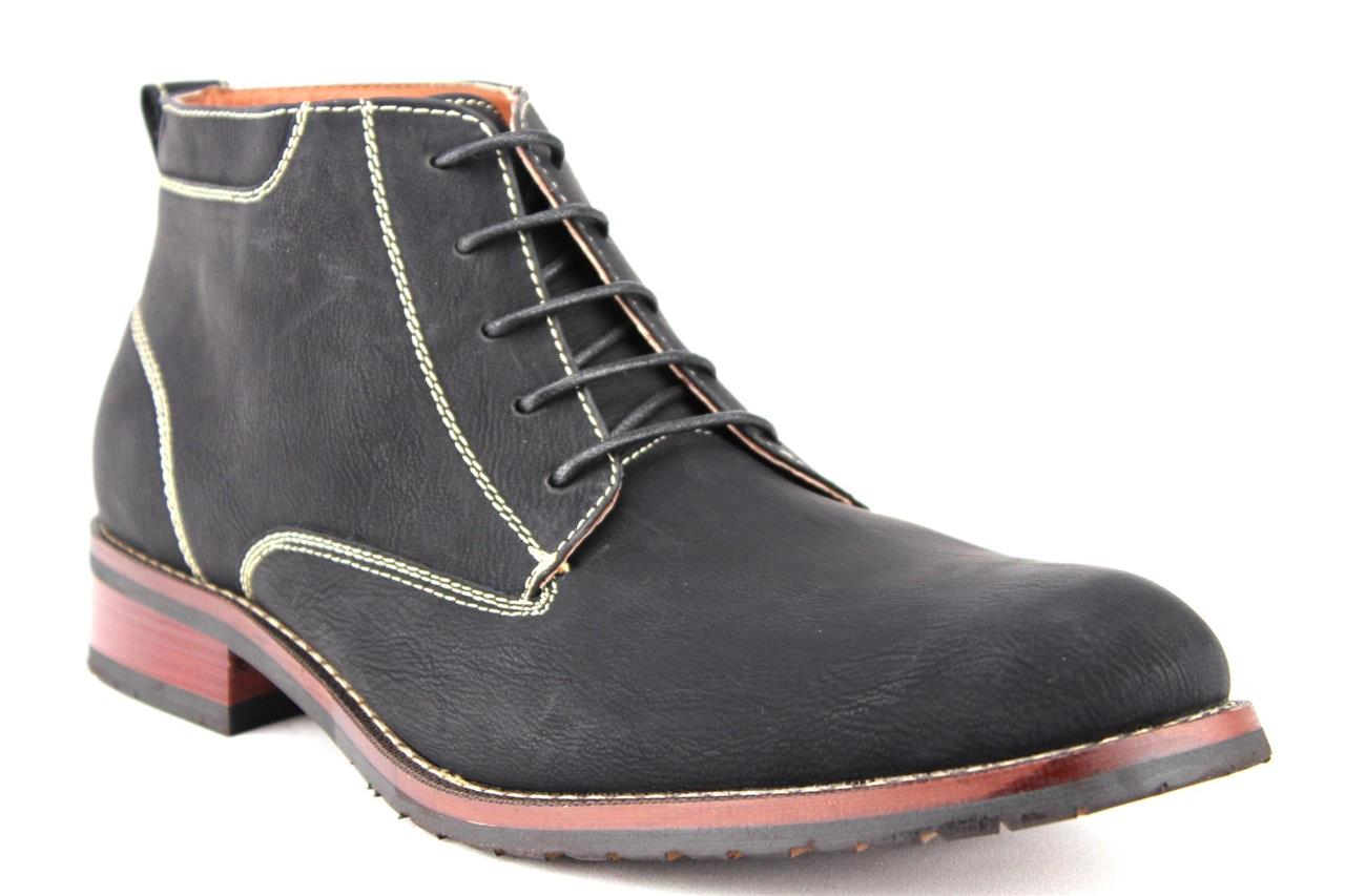 new ferro aldo s ankle high desert chukka boots lace