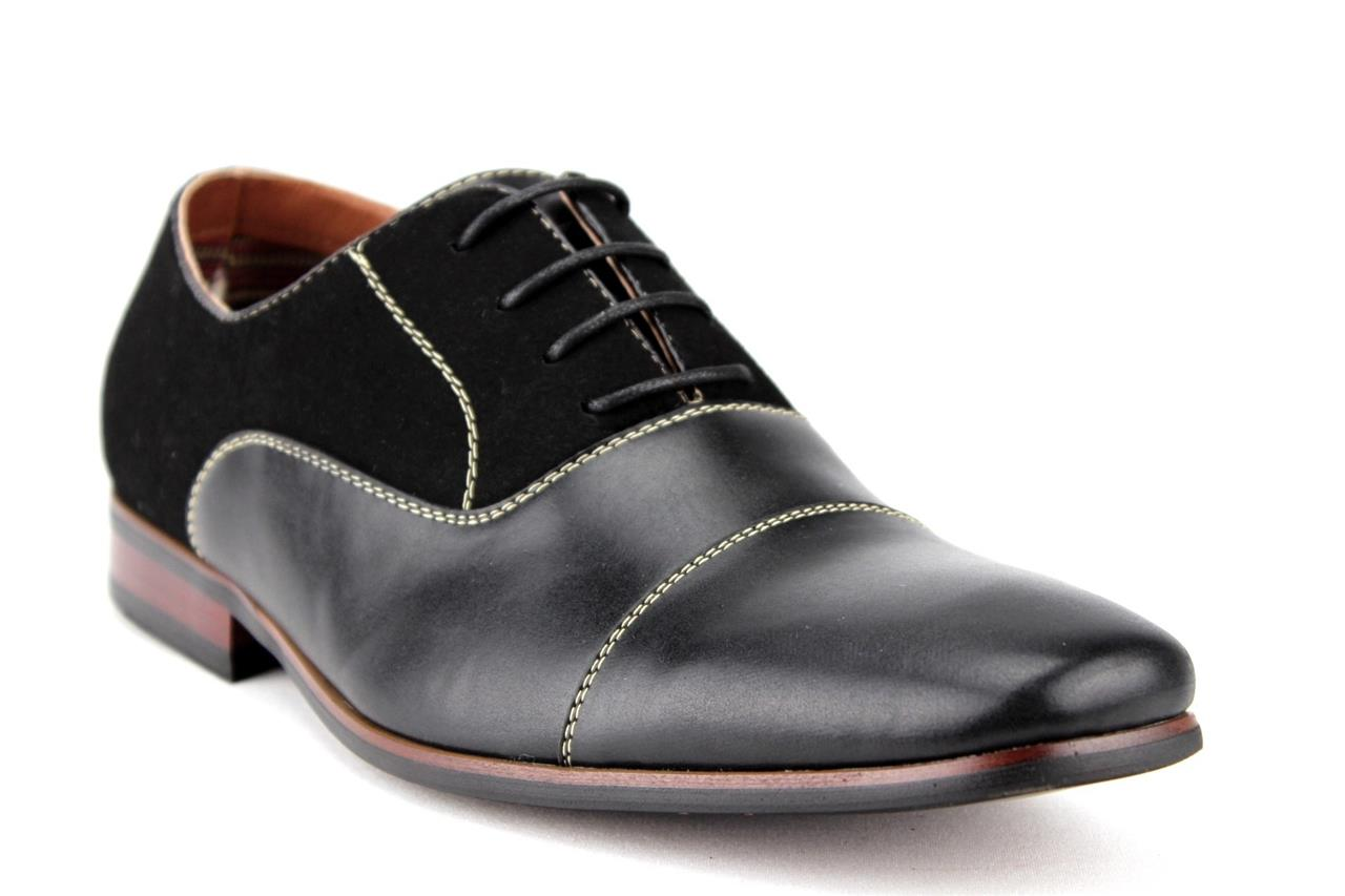 new mens ferro aldo modern leather lined suede lace up