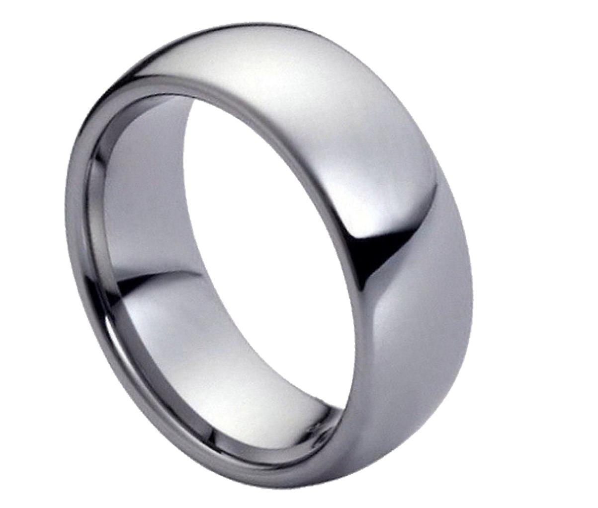 tungsten carbide wedding band Black Tungsten Carbide Wedding Band Ring Mens Jewelry