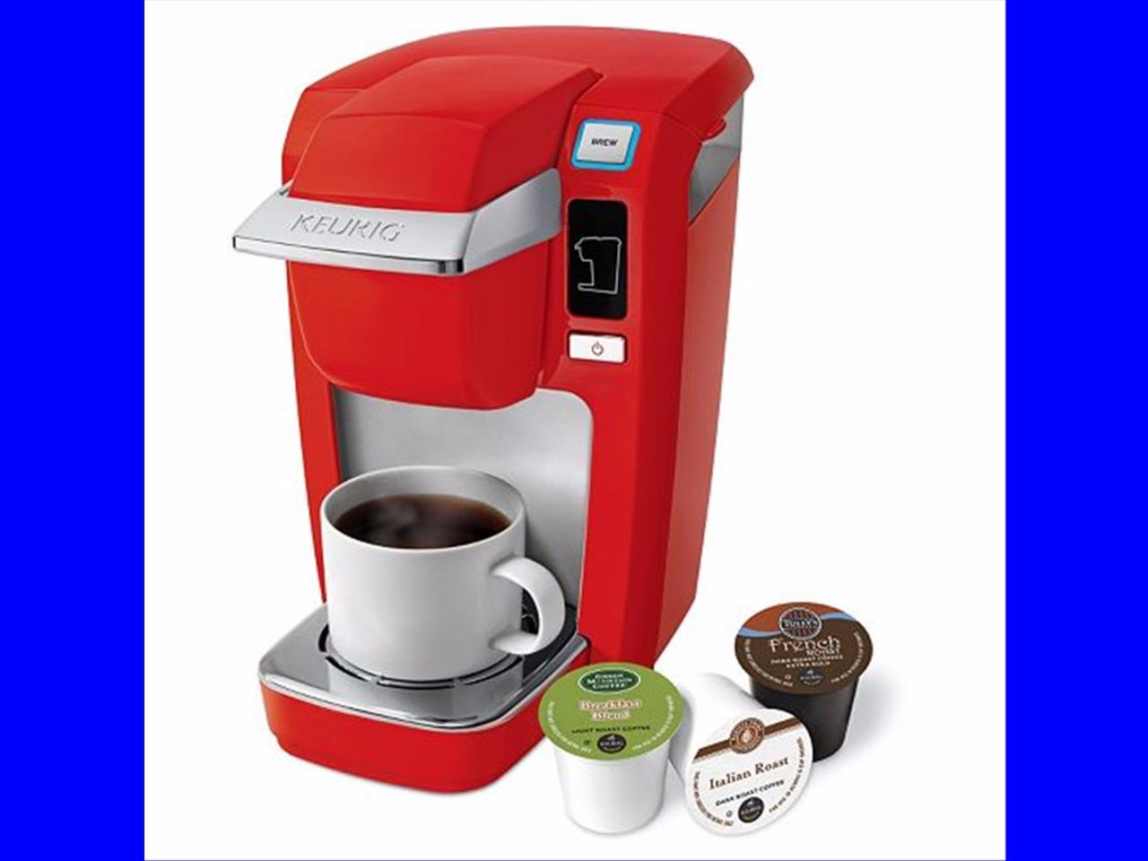 Coffee Maker Homekit : Keurig K10 Mini Plus Brewer Set Kit Coffee Maker New Brewing Red Black Blue eBay