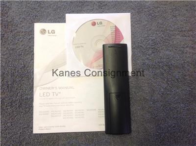 lg tv remote control manual
