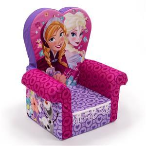 Disney Frozen High Back Kids Chair Soft Girls Children