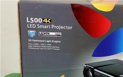 Lumens 4k Led Smart Projector 3d Optimized Light Engine