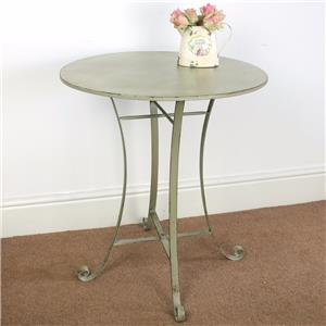 Metal Vintage Style Side Table Coffee Lamp Rustic Shabby Chic Occasional Ebay