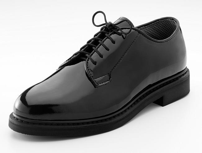 5055-NEW-HI-GLOSS-BLACK-UNIFORM-OXFORD-SHOES-5-14-REGULAR-8-14-WIDE