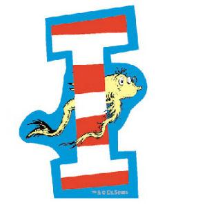 It is a picture of Exhilarating Dr Seuss Letters Printable