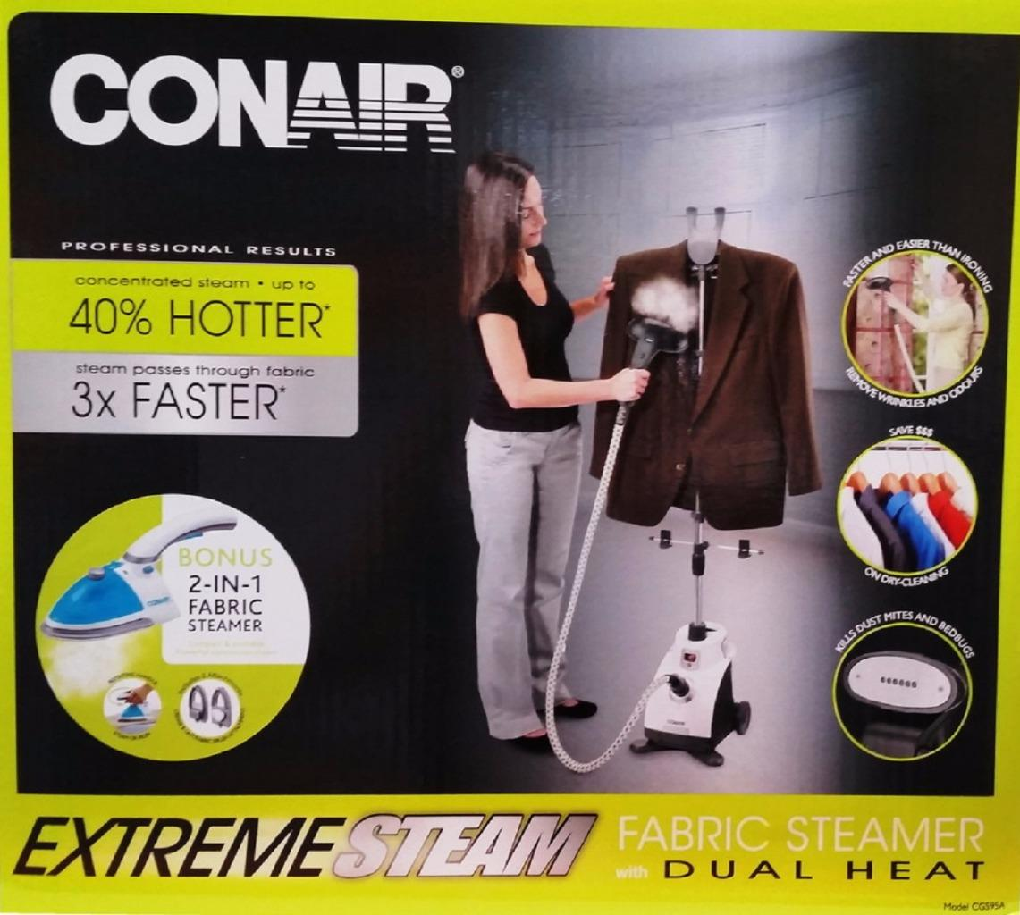 how to use conair steam iron