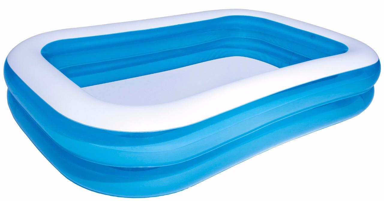 Bestway 8ft 10ft 12ft Fast Set Swimming Paddling Pool Rectangular Family Pool Ebay