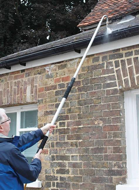 Telescopic Gutter Cleaner Extending Water Fed Household
