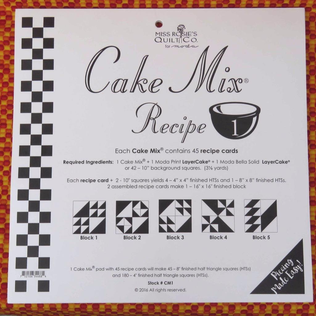 Moda Cake Recipes