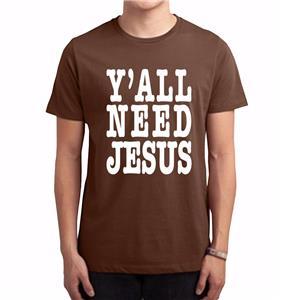 Nw Men Printed Y 39 All Need Jesus God Love Bible Cross