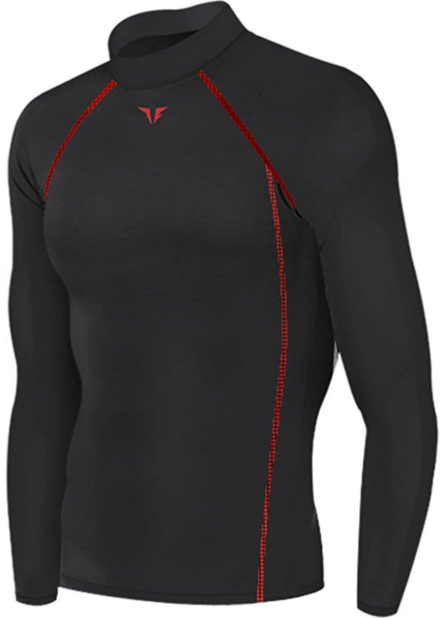 Mens Baselayer Long Sleeves Shirt Armour Compression