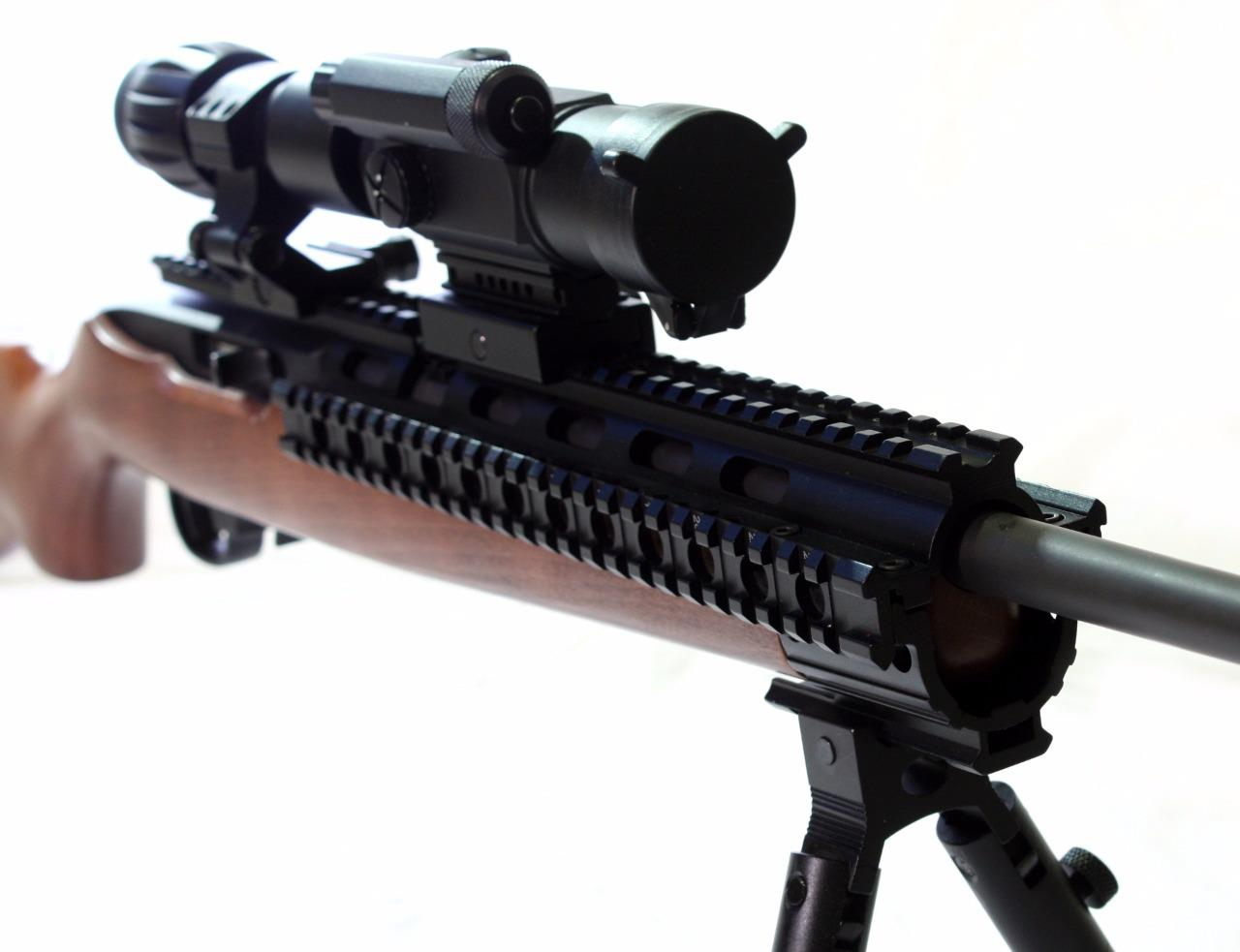 how to put scope on ruger 10 22 takedown