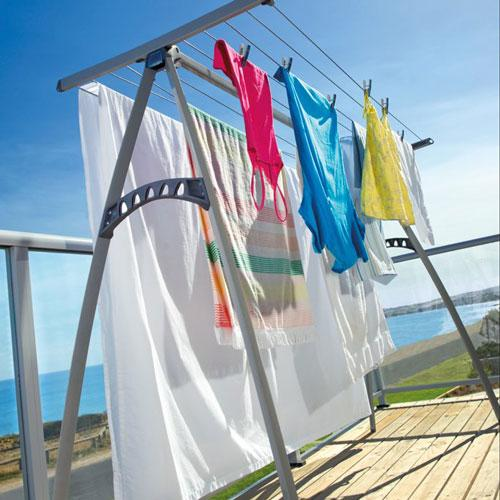Outdoor Cloth Dryer ~ Indoor outdoor hills portable folding clothes line