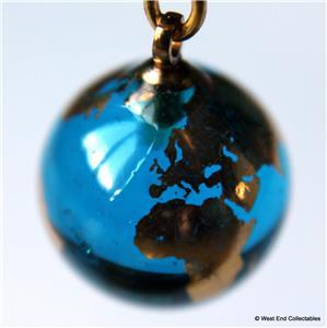 13mm 22ct gold planet erde glas marmor ohrringe teleskop astronomie globus ebay. Black Bedroom Furniture Sets. Home Design Ideas