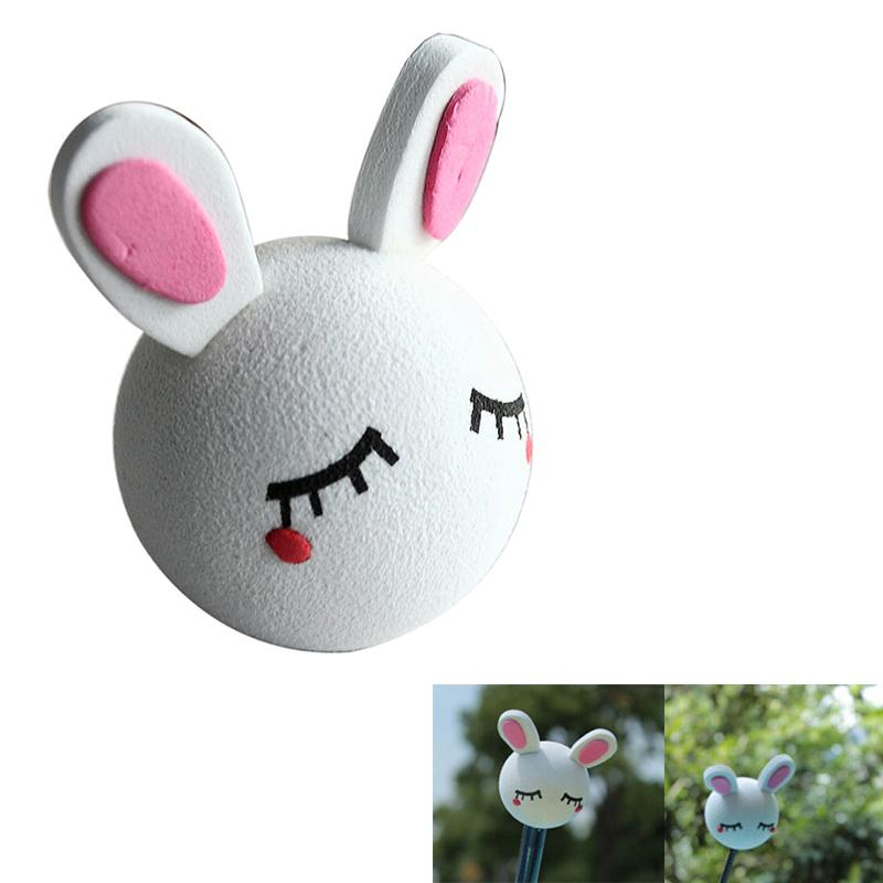 Car antenna toppers white rabbit lazada ph for Antenna decoration