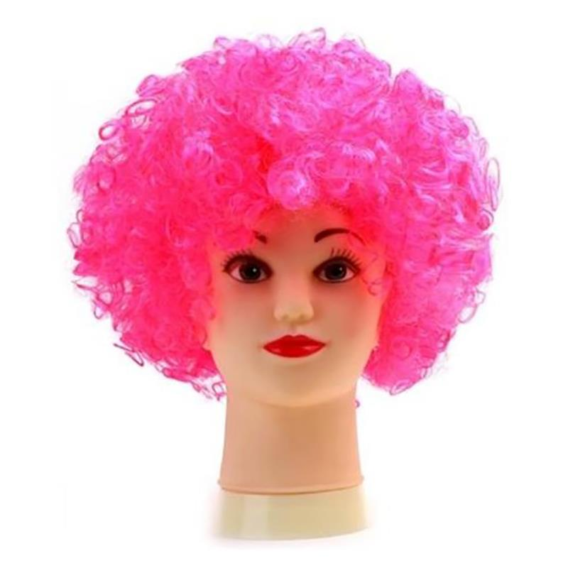 UK Seller* 80\'s Curly Afro Wig Disco Party Hair Funky Clown Costume ...