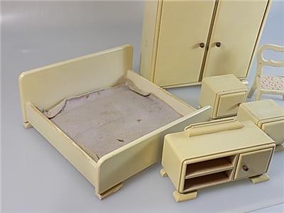 Konvolut original antike schlafzimmer m bel puppenstube - Antike schlafzimmer ...