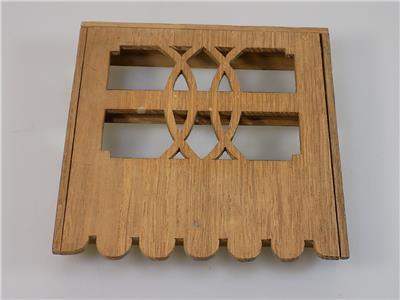 top jugendstil geschirr tellerbord regal holz miniaturm bel puppenstube 20 jhd ebay. Black Bedroom Furniture Sets. Home Design Ideas
