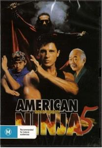 AMERICAN NINJA 5 - DAVID BRADLEY ACTION MARTIAL ARTS NEW ...