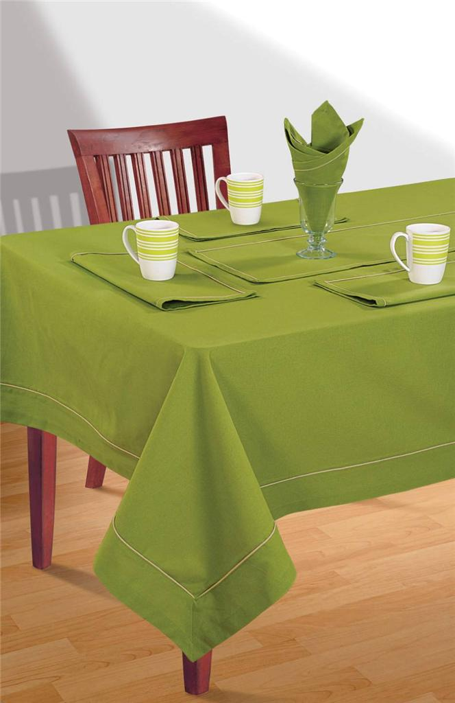 8 Seater Pure Cotton Table Linen Set 1 Table Cloth 8  : 813129023o from www.ebay.com.au size 664 x 1024 jpeg 58kB
