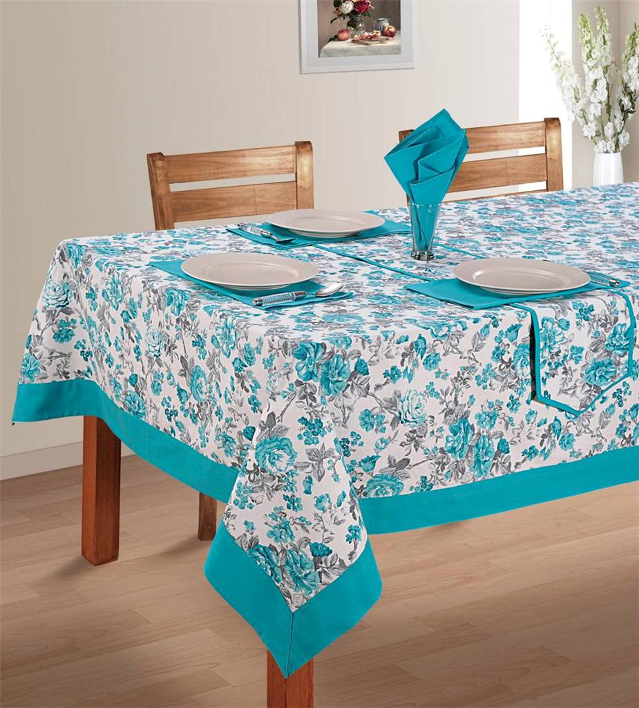 8 Seater Pure Cotton Table Linen Set 1 Table Cloth 8  : 813129032o from www.ebay.com.au size 925 x 1024 jpeg 153kB