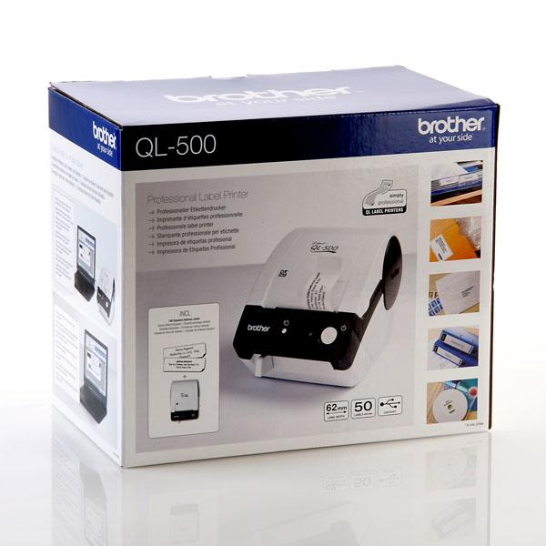 brother p touch ql 500 label thermal printer address. Black Bedroom Furniture Sets. Home Design Ideas