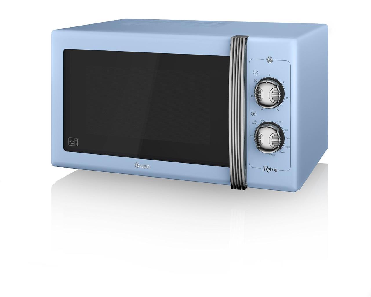 cygne sm22070bln r tro 25l 900w manual micro ondes bleu ebay. Black Bedroom Furniture Sets. Home Design Ideas