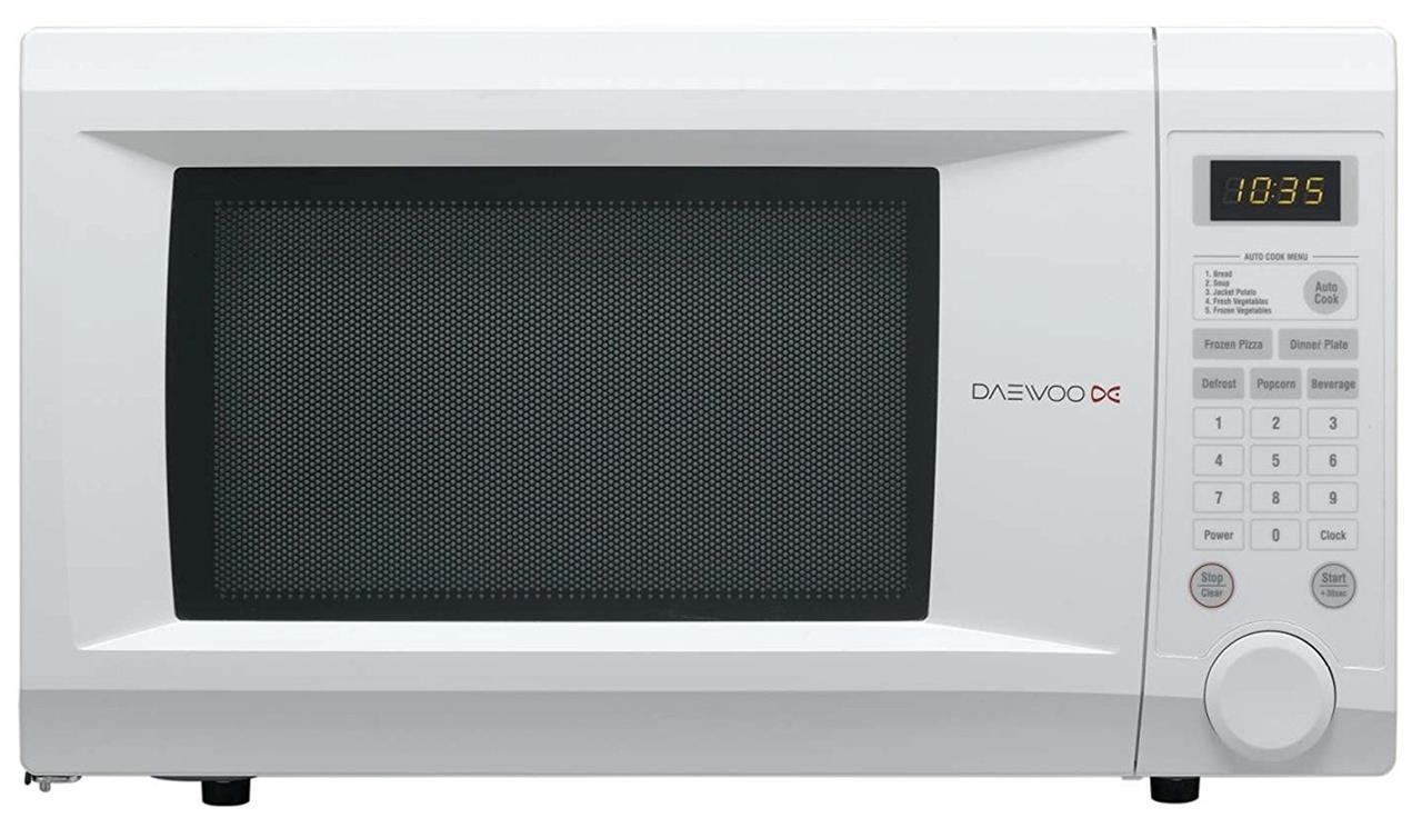 daewoo kor1n0a 31l 1000w digitale famiglia misura forno a. Black Bedroom Furniture Sets. Home Design Ideas