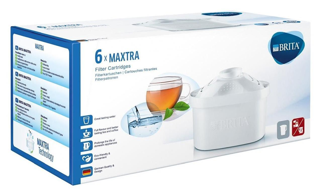 brita maxtra wasser filter kartusche 6 st ck packung ebay. Black Bedroom Furniture Sets. Home Design Ideas