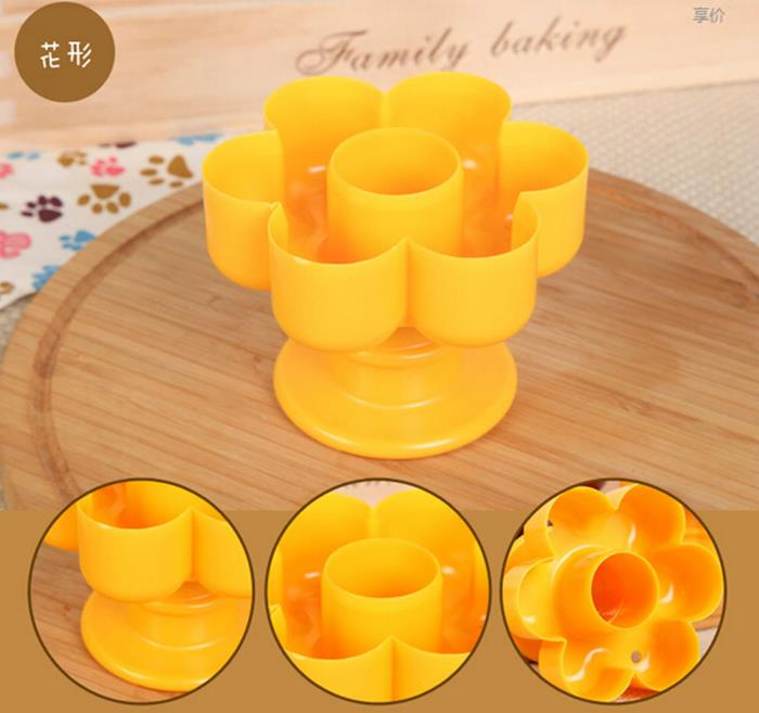4pcs plastic heart sunflower round shape donut maker pineapple bread mold cutter. Black Bedroom Furniture Sets. Home Design Ideas
