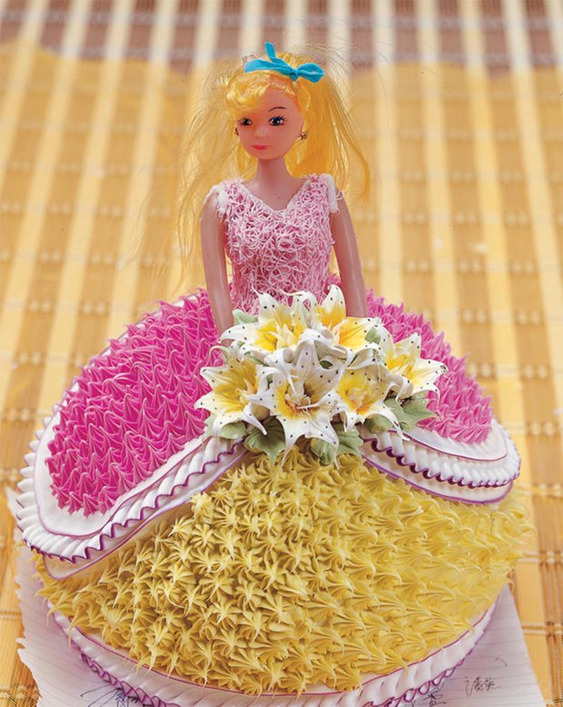 Baking Pan For Barbie Cake