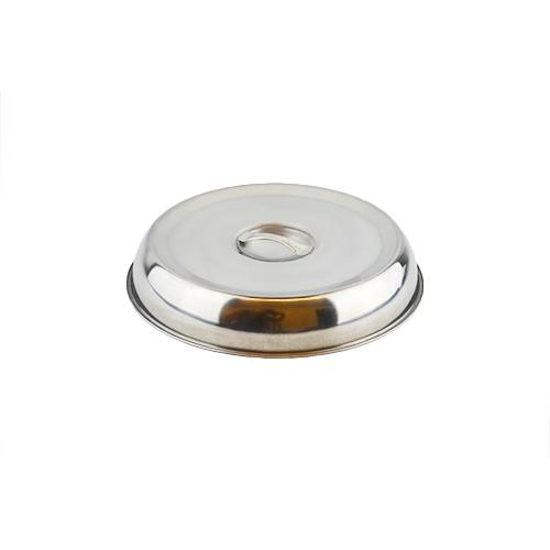stainless steel dinner plate cover 22 24 26cm silver ebay. Black Bedroom Furniture Sets. Home Design Ideas