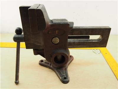 Columbian 4 1043 5 Gyro Versa Vise Bench Clamp Swivel Base Machinist Carpenter Ebay