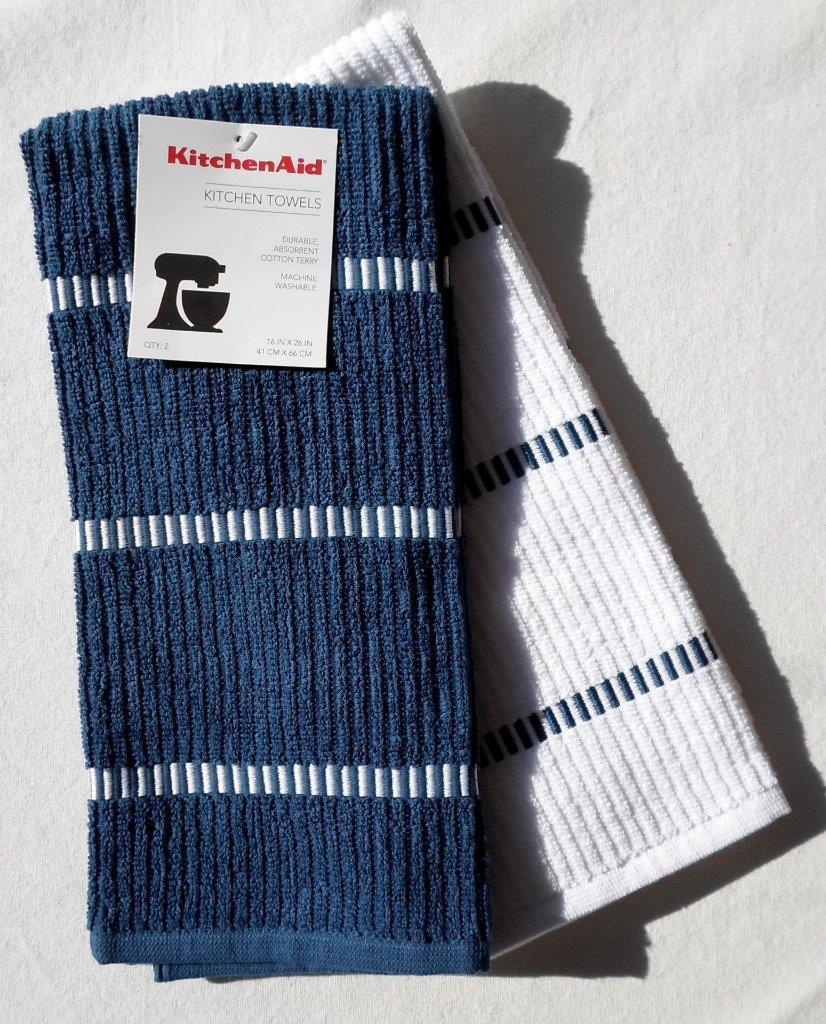 Grey Dish Rags: KitchenAid 2pc Dish Color Choice Towel Cotton Terry