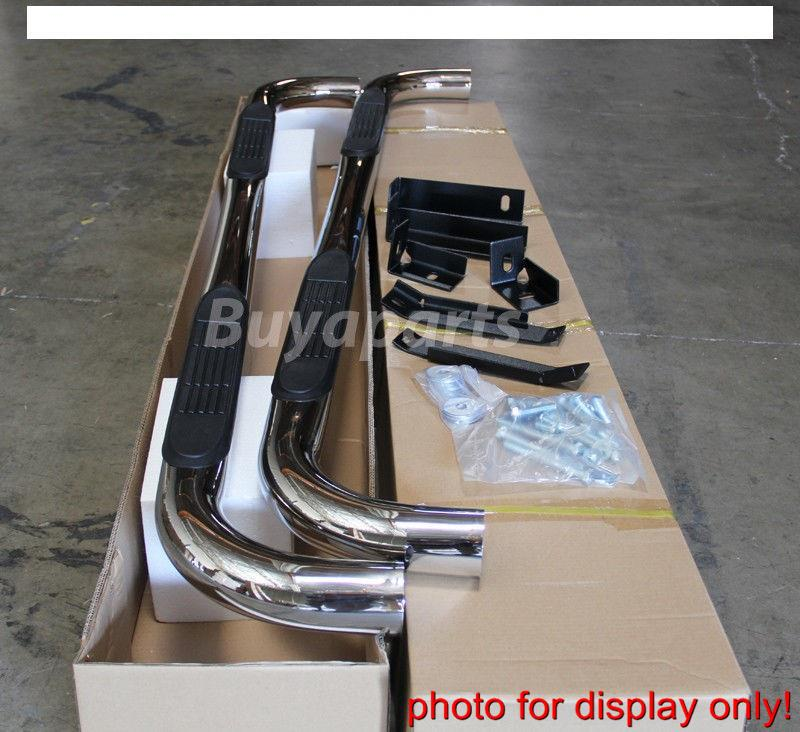 2003-2009 Dodge Ram 2500 Quad Cab 3' S/S CHROME SIDE STEP
