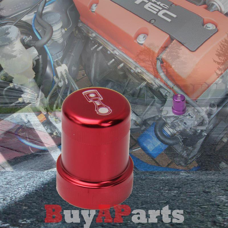 Red Solenoid Cover For Accord Civic Del Sol Prelude