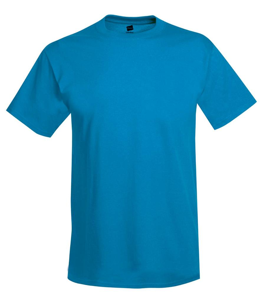 Hanes mens beefy t shirt 100 cotton tag free tee sizes s for Hanes 5180 beefy t t shirt