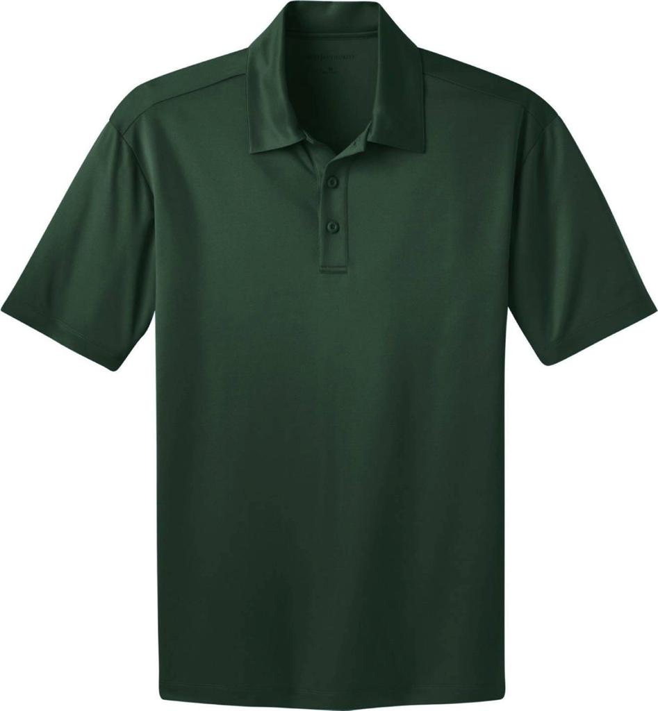 Big tall dri fit short sleeve polo shirt by port for Large tall golf shirts