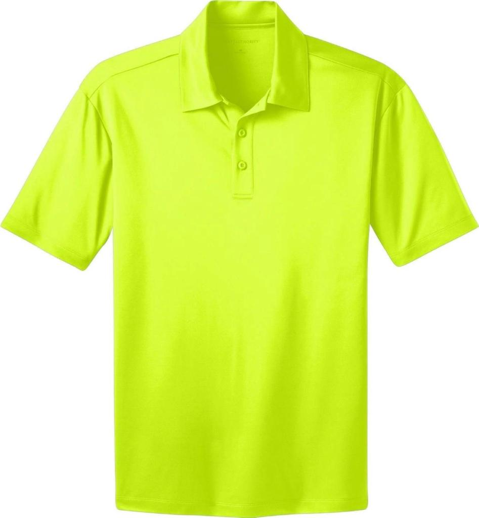 Big tall dri fit short sleeve polo shirt by port for Women s dri fit polo shirts wholesale