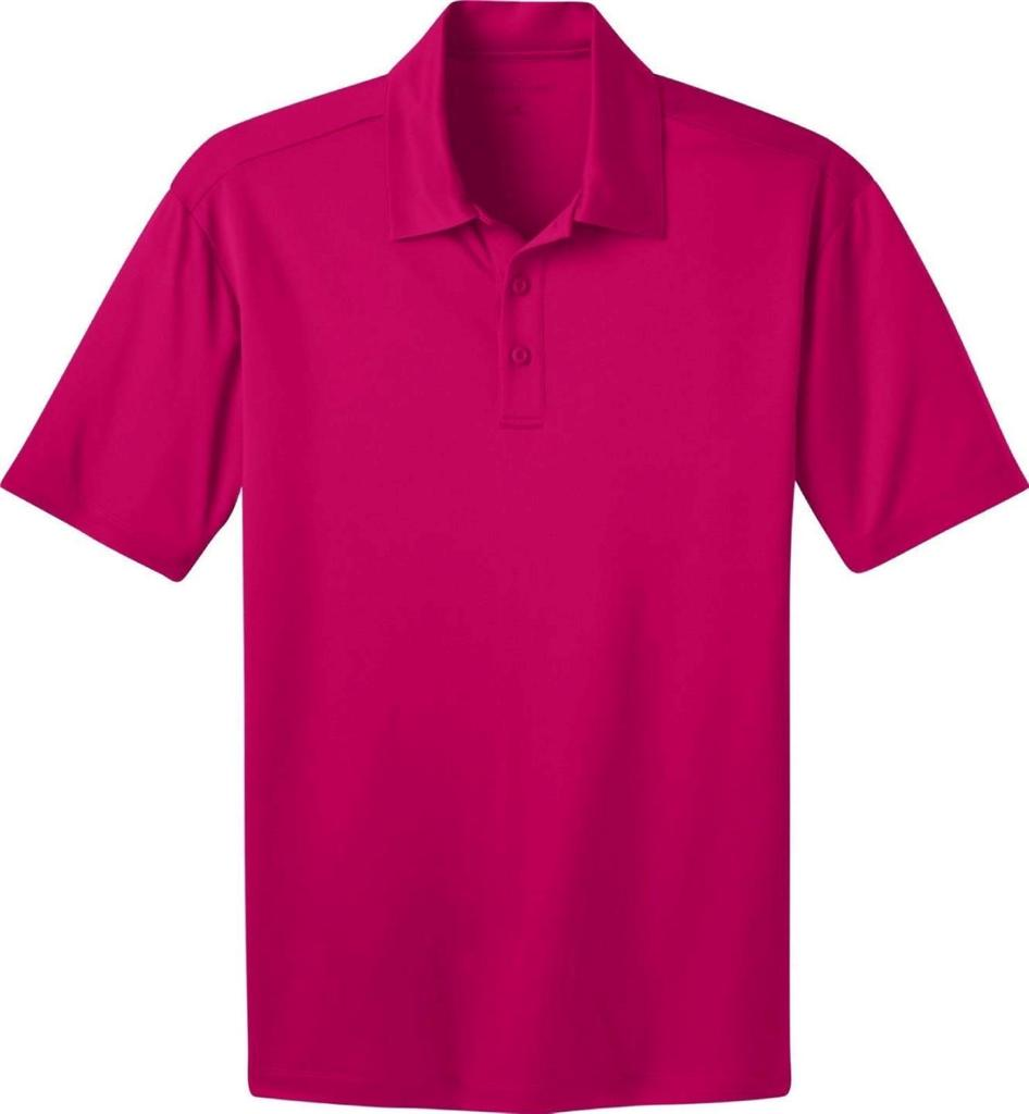 Dri fit silk touch short sleeve polo shirt by port for Women s dri fit polo shirts wholesale