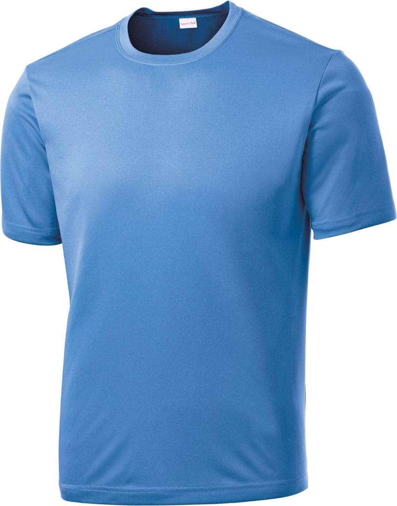 Mens Dri Fit Short Sleeve Sport Tek Moisture Wicking T
